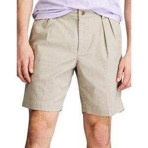 Chaps pleated front khakis shorts 38